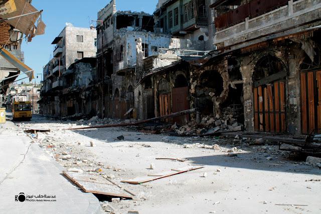 البدء بإعادة إعمار حلب القديمة