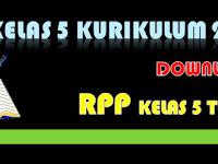 RPP Kelas 5 SD/MI Kurikulum 2013 Tema 4 Revisi 2018