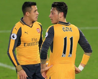 Arsenal Moves to Etihad and Ozil is the dependant. PHOTO | SKYSPORTS.