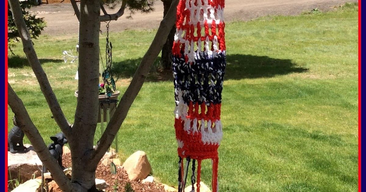 Windsock Crochet Pattern