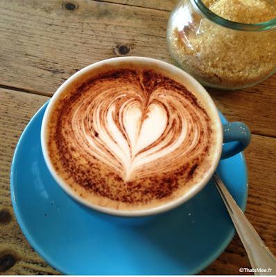 café latte Maison d'Etre islington et highbury Londres