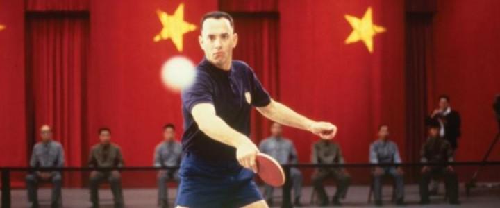 El detrás de cámara de la famosa escena de ping pong de Forrest Gump