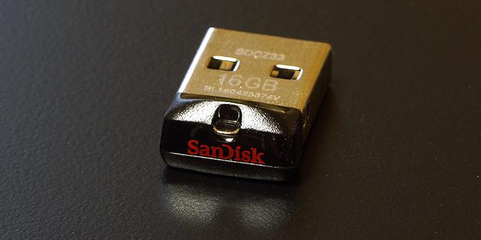 サンディスク「Cruzer Fit USBフラッシュ ドライブ」をレビュー