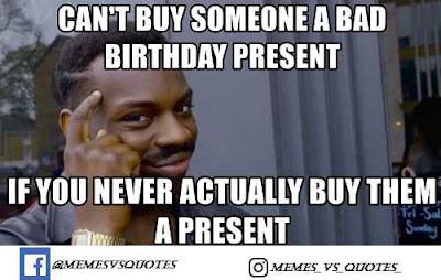 Buy a present