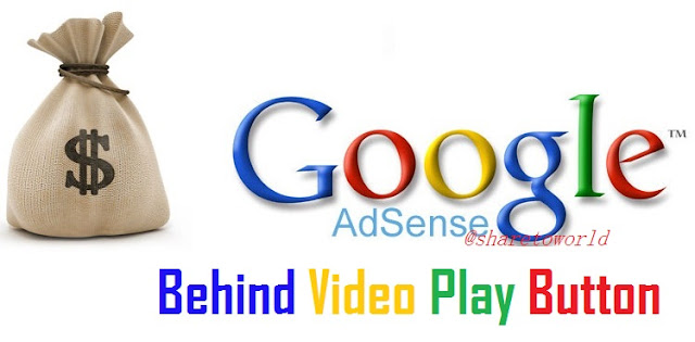 [Revealed] Hide Google Adsense Ads behind Video Play Button