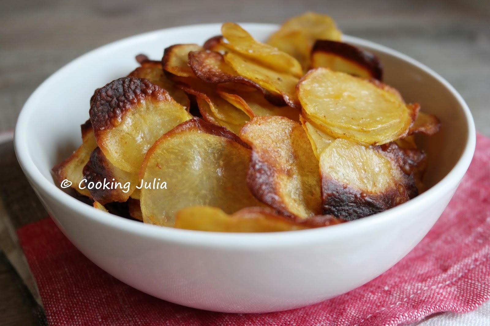 Recette chips fait maison au four ventana blog - Chips fait maison au four ...