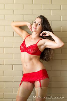 MyNakedDolls Ivanna Undressing Ivanna Picture Set