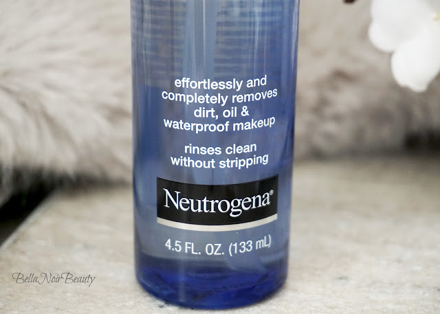 Neutrogena Ultra Light Cleansing Oil | bellanoirbeauty.com