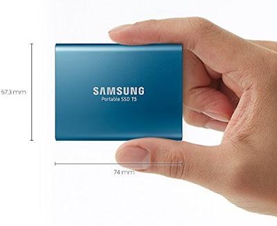 Samsung T5 Portable 500GB SSD terbaik 2018