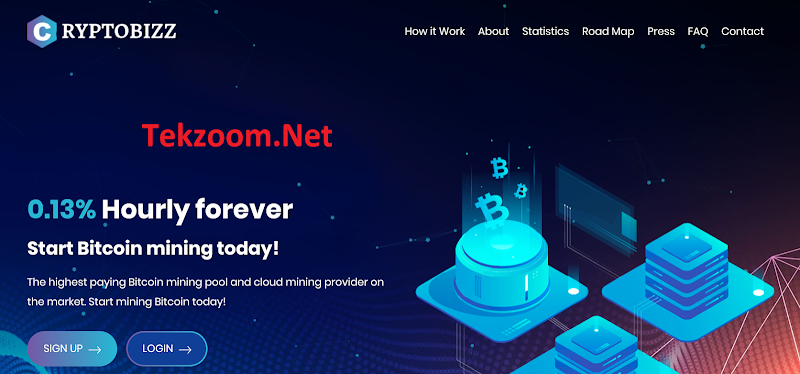 [SCAM] Review CryptoBizz LTD - Lãi 3.12% hằng ngày mãi mãi