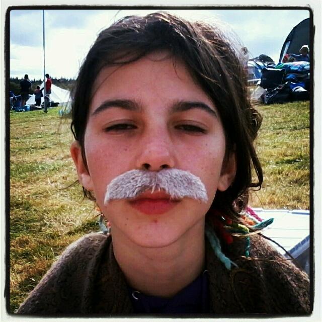 festival moustache