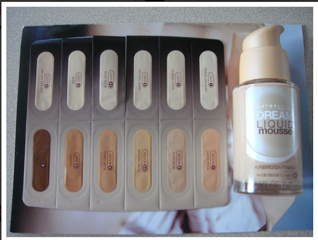 Maybelline Dream Liquid Mousse Airbrush Finish Foundation