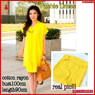 SPC134F50 Fushie Dress Keterangan Yl Dress Wanita | BMGShop