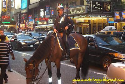Policía en Times Square, NYC