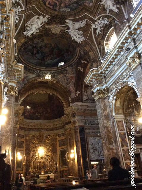 city tour roma portugues santa maria vitoria nave central - Igreja Santa Maria della Vittoria