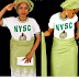 See pix;Check out what this corper with her NYSC uniform