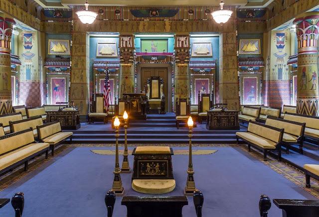 Templo Maçônico na Filadélfia