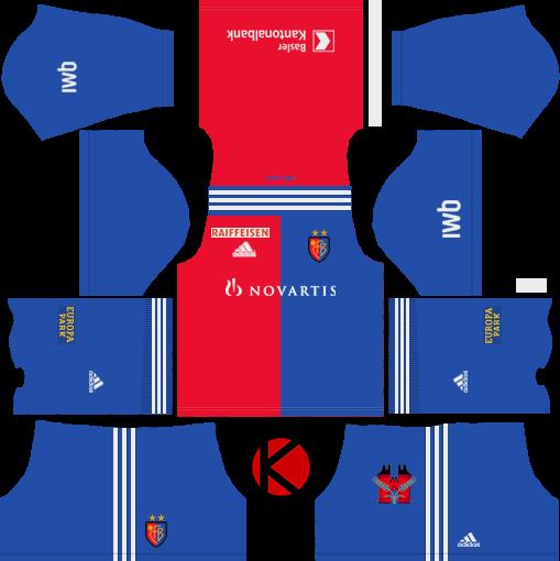 7df75499421 FC Basel 2018 19 Kit - Dream League Soccer Kits - Kuchalana