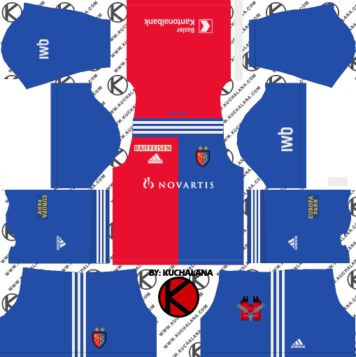 FC Basel 2018/19 Kit - Dream League Soccer Kits