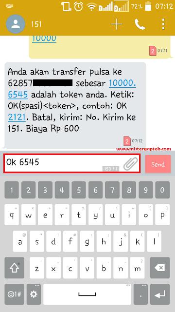 Cara Mudah Transfer Pulsa Indosat (IM3 dan Mentari)