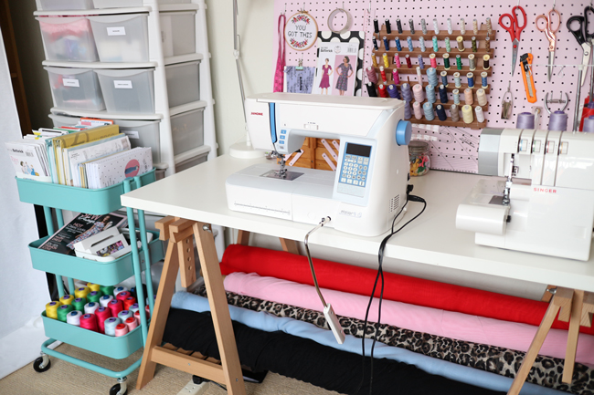 Sewing Space Tours...Abi's Sewing Space!