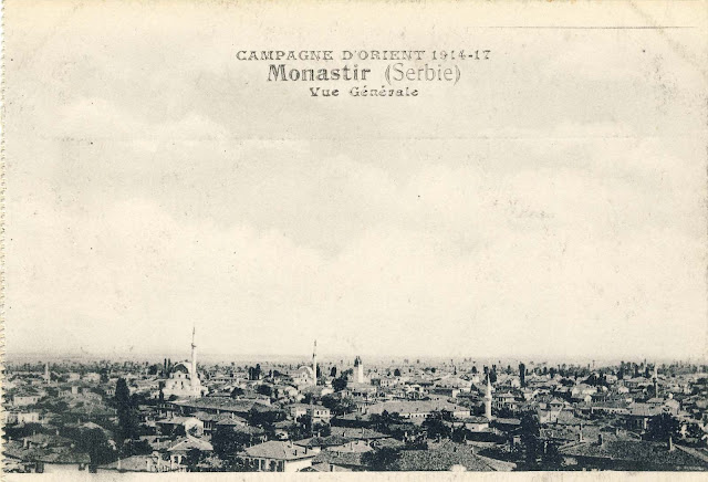 Panorama of Bitola, 1917.