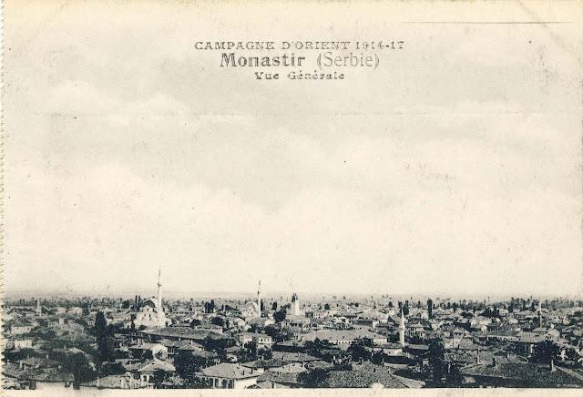Panorama of Bitola, 1917.