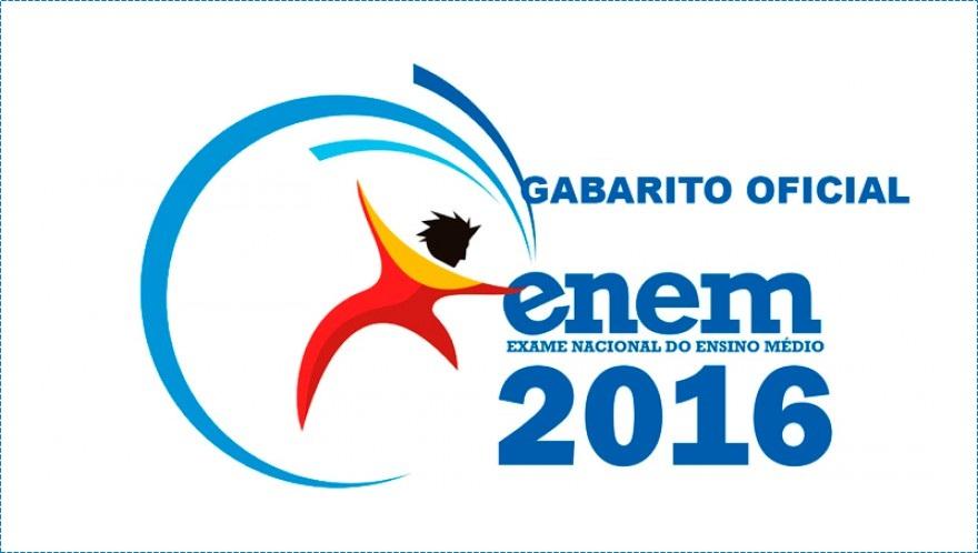 Inep divulga gabarito oficial do Enem 2016; confira