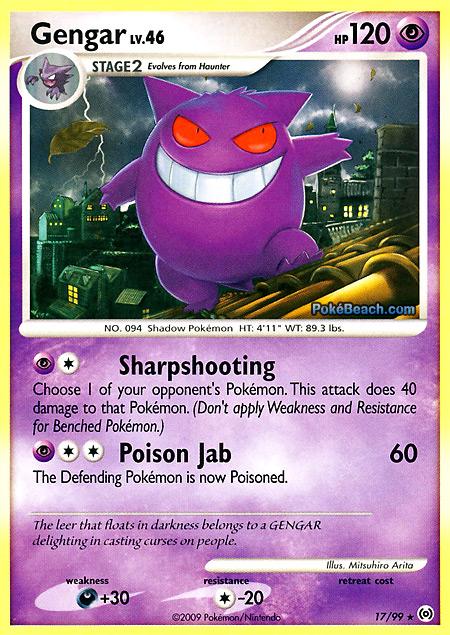 Gengar #17/99 -- Arceus Pokemon Card Review ...
