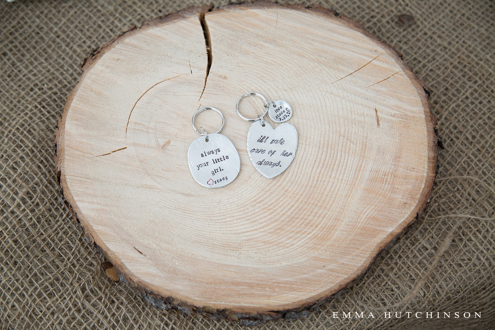 Newfoundland backyard wedding - gift for parents