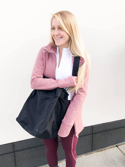 lululemon radiant-jacket flocked-wunder-udner on-my-level-bag