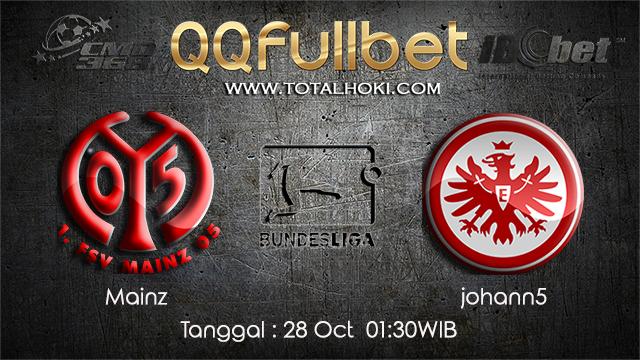 PREDIKSIBOLA - PREDIKSI TARUHAN BOLA MAINZ VS FRANKFURT 28 OCTOBER 2017 (BUNDESLIGA)
