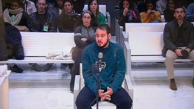 """Pablo Hasel: """"A ver si voy a ser yo el culpable de que el rey financie sus cacerías y amantes con dinero público"""""""