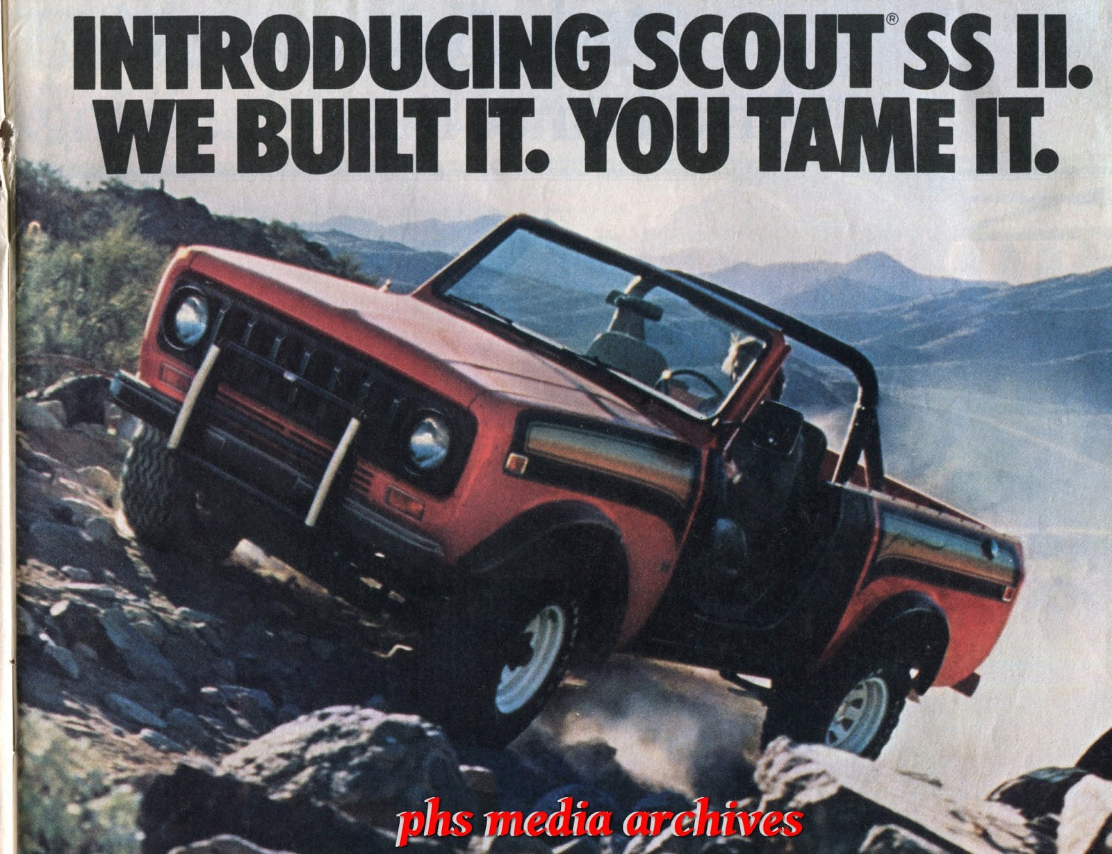1977-1979 International Harvester Scout SS II