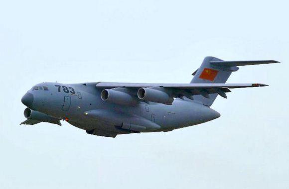 Y-20 saat Airshow China 2014