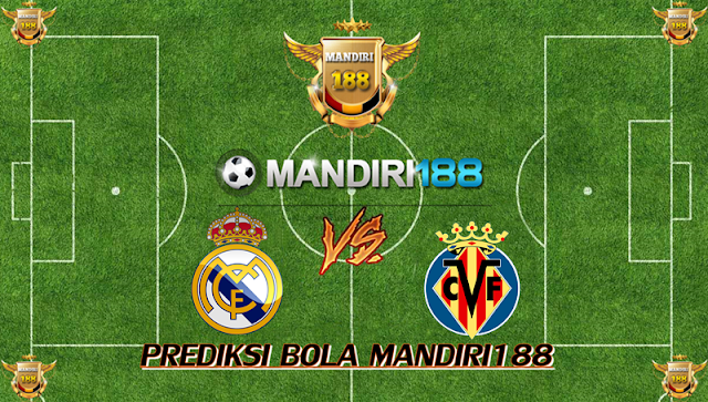 AGEN BOLA - Prediksi Real Madrid vs Villarreal 13 Januari 2018