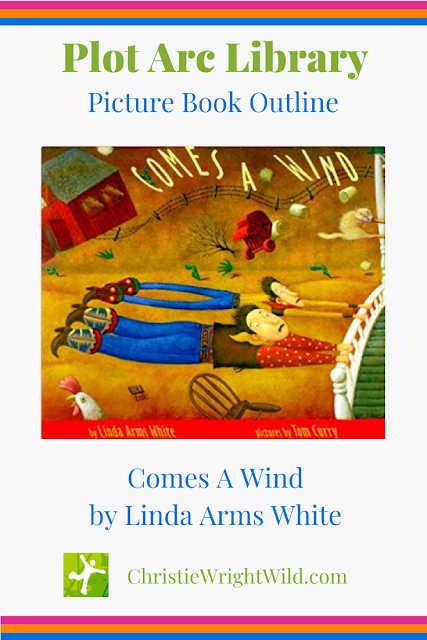 Picture Book Outline for Comes a Wind by Linda Arms White || Plot Arc Library, christiewrightwild.com