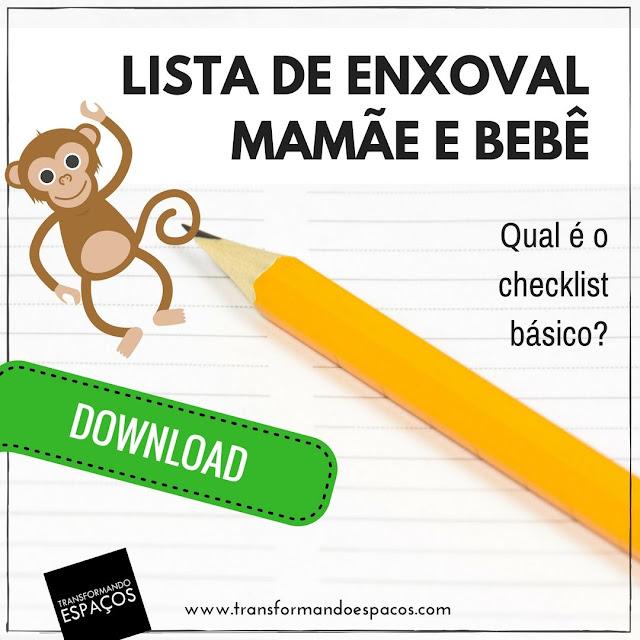 Lista de Enxoval para a mamãe e o bebê