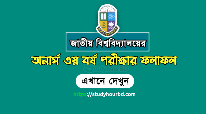 NU Honours 3rd Year Result 2018