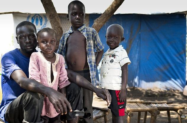 Imvepi Refugee Settlement in Arua District, Northern Uganda