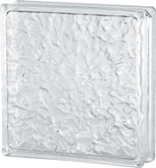 brique de verre faible épaisseur