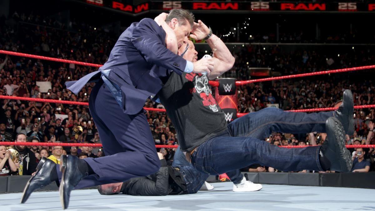"""""""Stone Cold"""" Steve Austin relembra sua rivalidade com Vince McMahon"""