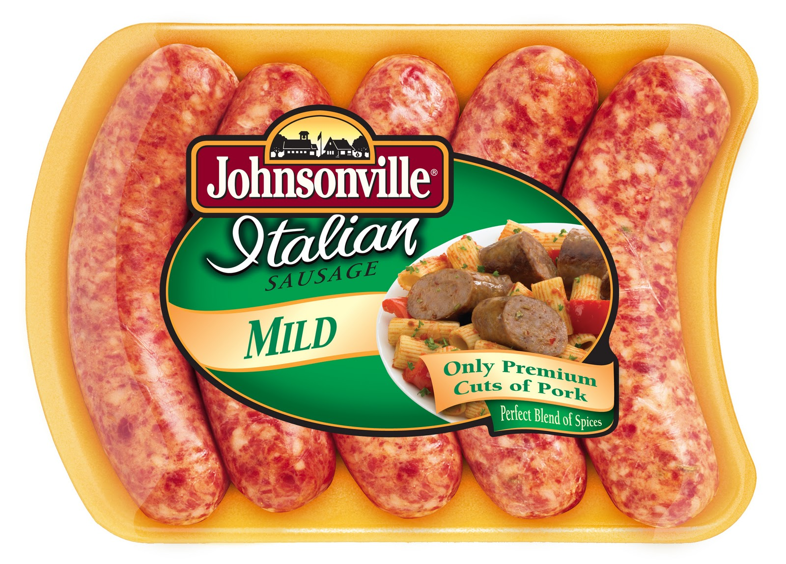 Johnsonville® Italian Sausage and Pepper Medley Pasta. Tweet. Johnsonville® Italian Sausage and Pepper Medley Pasta. 5 of 5 Average (2 reviews) All the important food groups are represented in this satisfying pasta dish. The veggies are represented with a fantastic mix of .