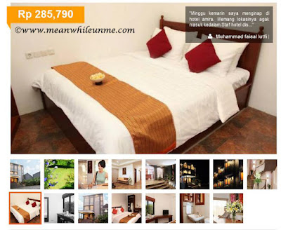 Tips Booking Hotel secara Online ala Meanwhile U and Me foto foto hotel