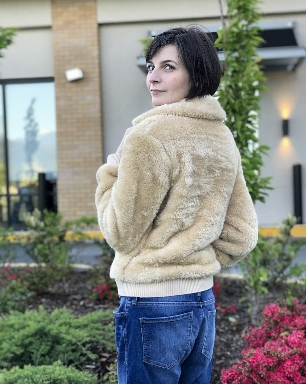 A Perfect Teddy Coat | May 5 Lookbook | Jackie O My