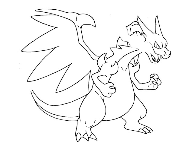 Pokemon Coloring Pages Mega Charizard Coloring Pages With Pokemon Coloring  Pages Ex