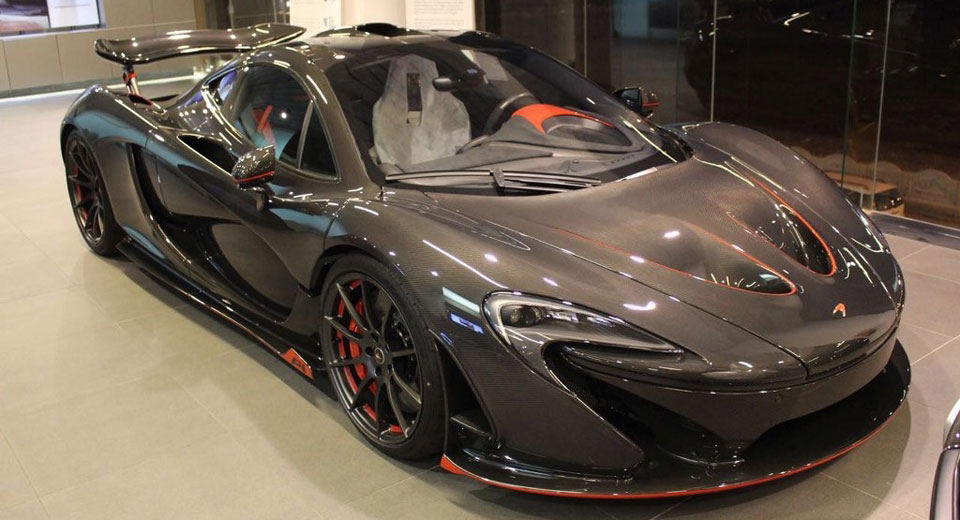 McLaren P1 Carbon Series Is A Limited-Edition Masterpiece