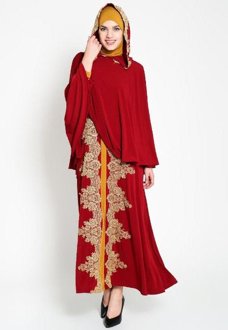 15 Model Baju Gamis Muslimah  Modern