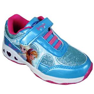 Gambar Sepatu Frozen Anak Perempuan