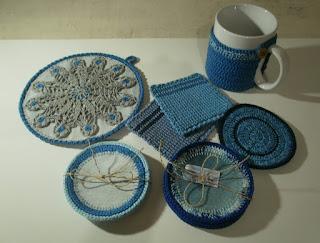 Denim and crochet